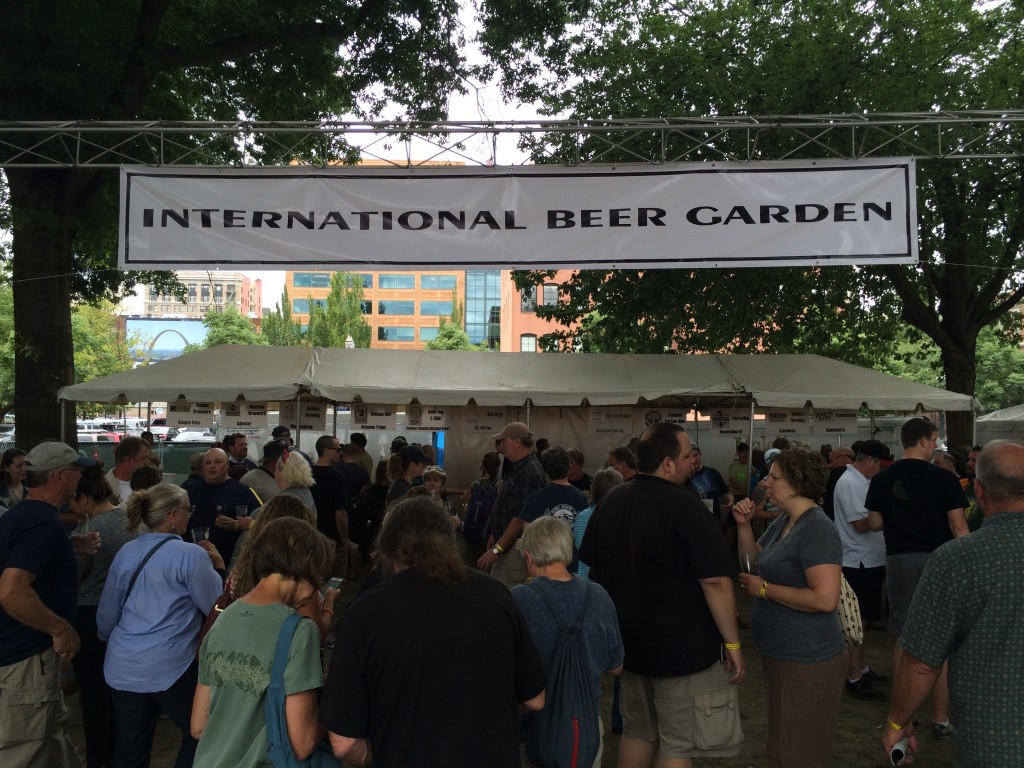 Oregon Brewers Festival International Beer Garden