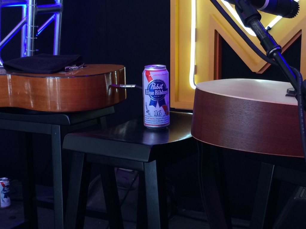 PBR can at #NoMoFomo experience at Project Pabst (photo by Cat Stelzer)