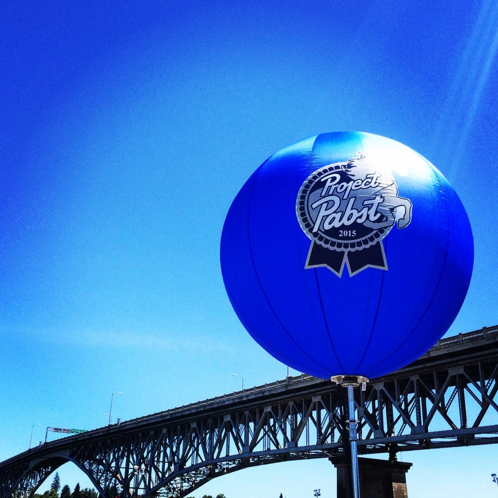 Pabst Project Balloon (photo by D.J. Paul)