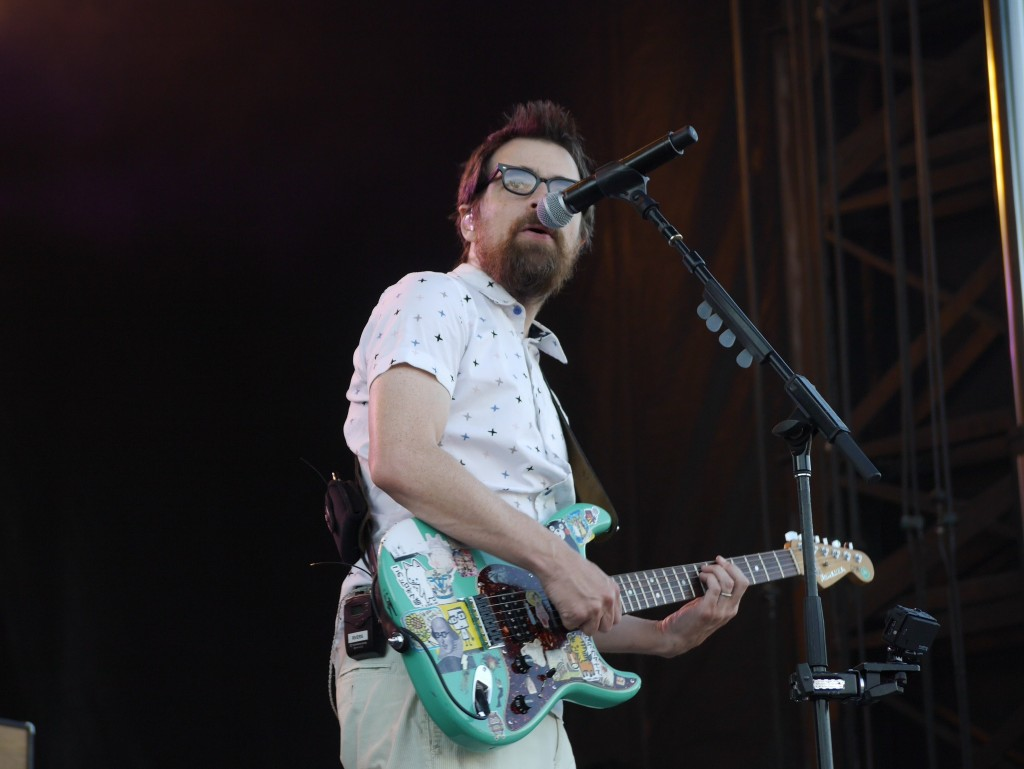 Rivers Cuomo of Weezer at Project Pabst (photo by Cat Stelzer)