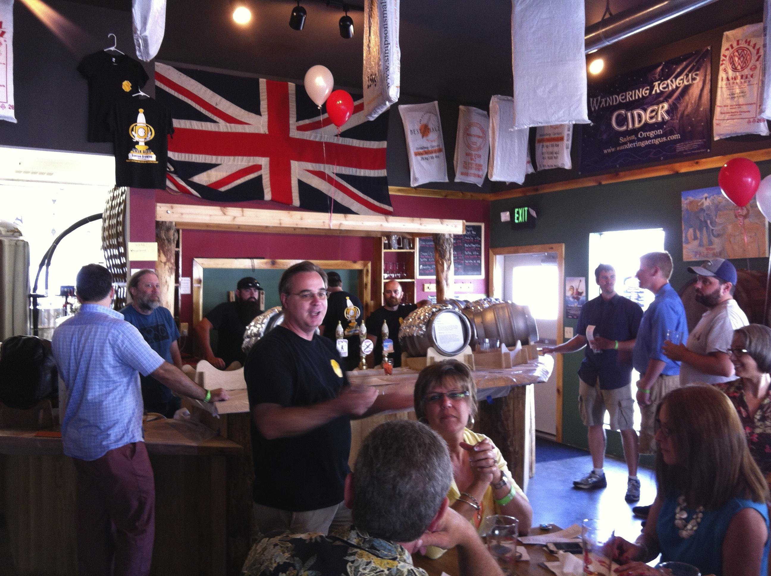 Rock the Cask Bar at Santiam Brewing
