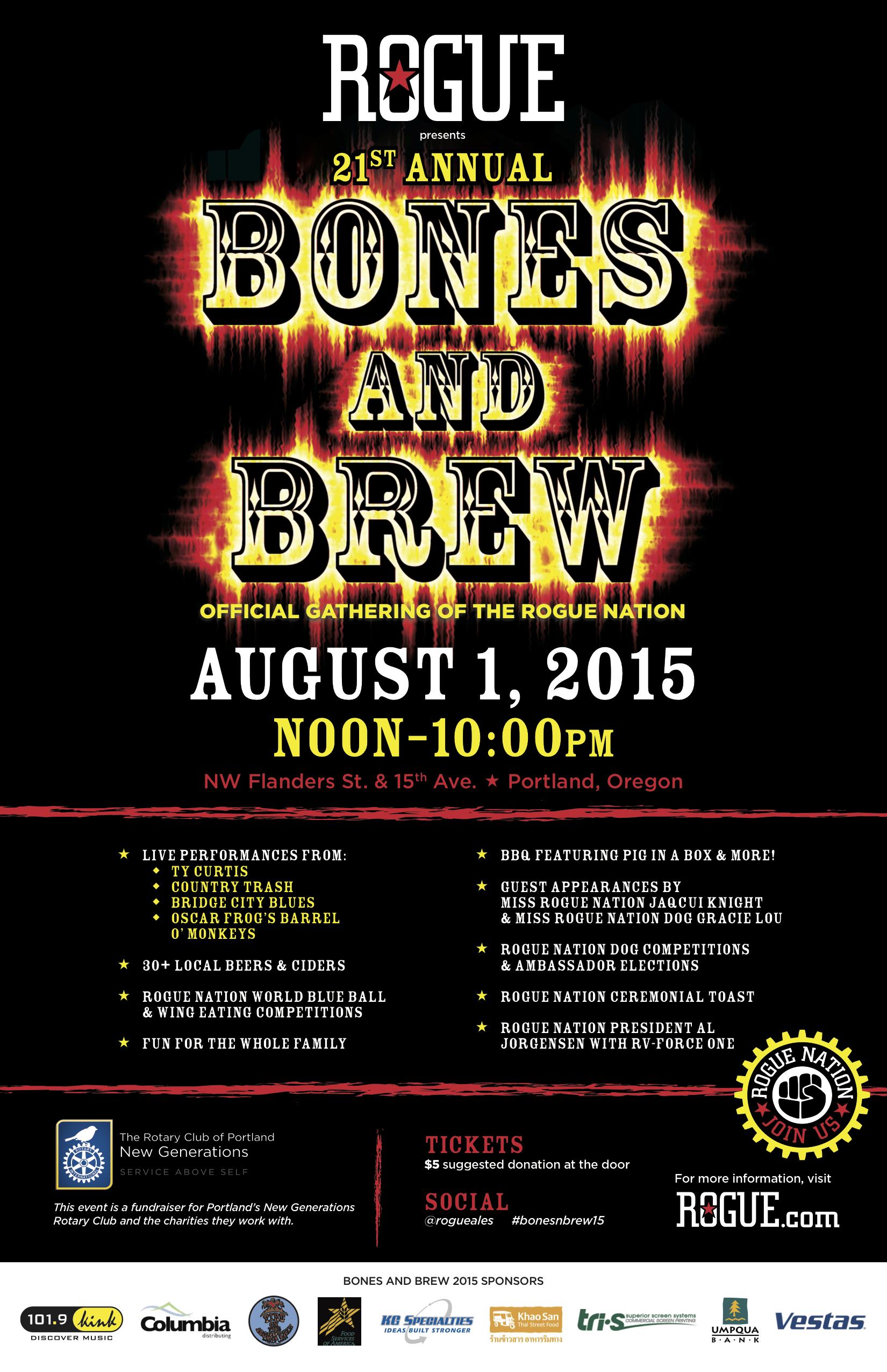Rogue 21st Annual Bones & Brew
