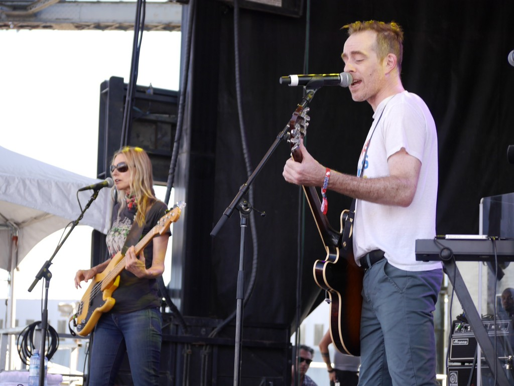The Both featuring Aimee Mann and Ted Leo at Project Pabst (photo by Cat Stelzer)