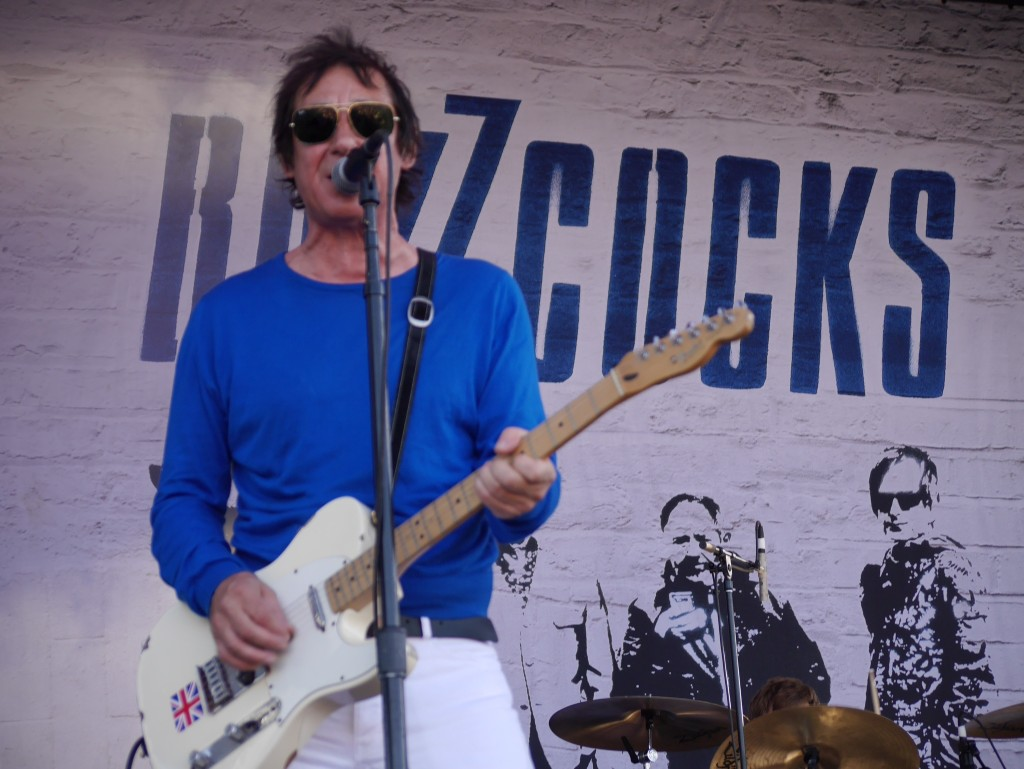 The Buzzcock's Steve Diggle at Project Pabst (photo by Cat Stelzer)