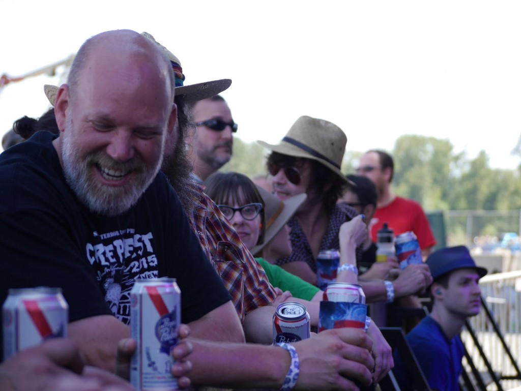 The Crowd during Terry & Louie at Project Pabst (photo by Cat Stelzer)