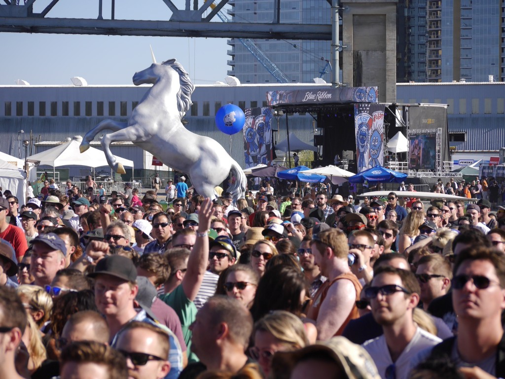 The Pabst Unicorn at Project Pabst (photo by Cat Stelzer)