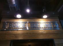 10 Barrel Mini Pub Signage