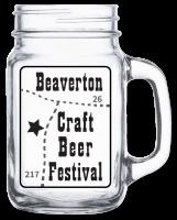 2015 Beaverton Craft Beer Festival Glass Mug