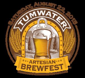 2015 Tumwater Artesian Brewfest Logo