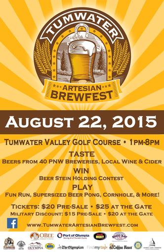 2015 Tumwater Artesian Brewfest