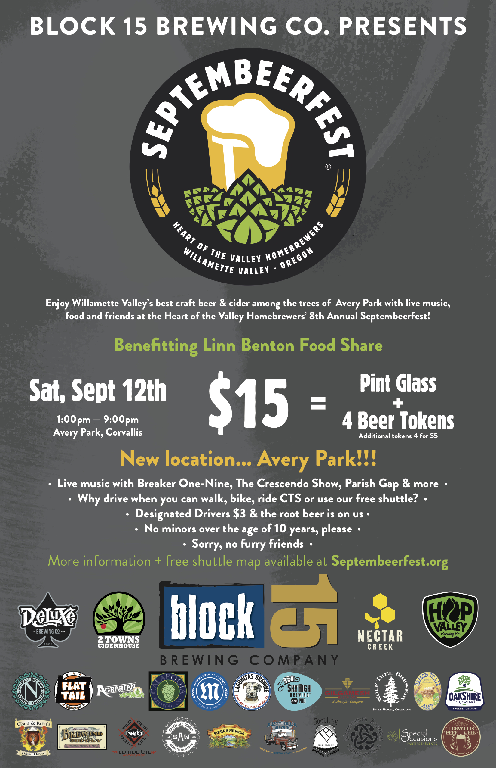 8th Annual Septembeerfest in Corvallis