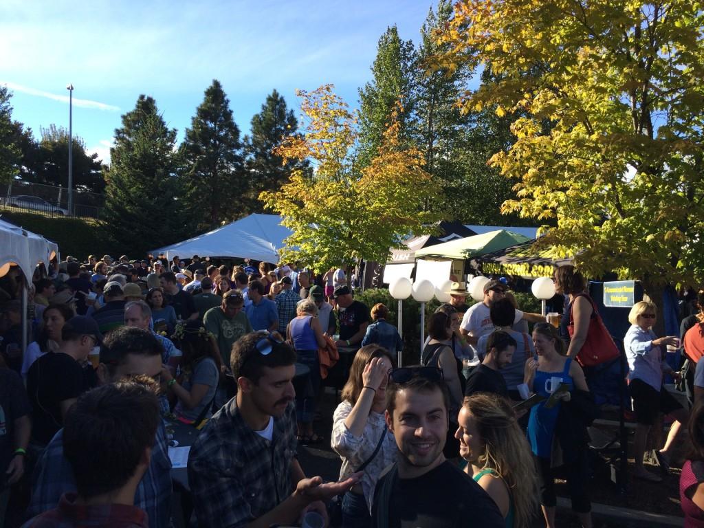 Autumn time at Hood River Hops Fest