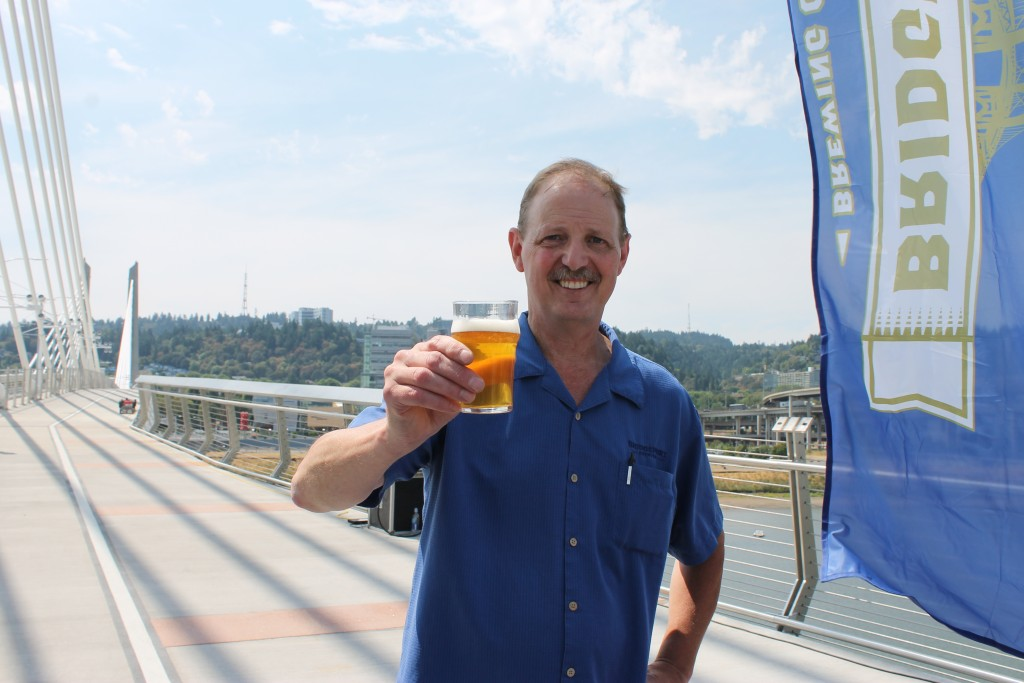 BridgePort Brewing Brewer Eric Munger