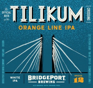 BridgePort Tilikum Crossing Orange Line White IPA