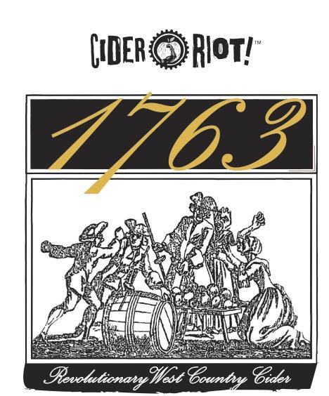 Cider Riot! 1763 Label