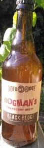 Cider Riot! Bogman's Cranberry Brettanomyces cider