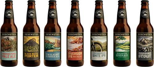 Deschutes Brewery New 2015 Labels and Packaging
