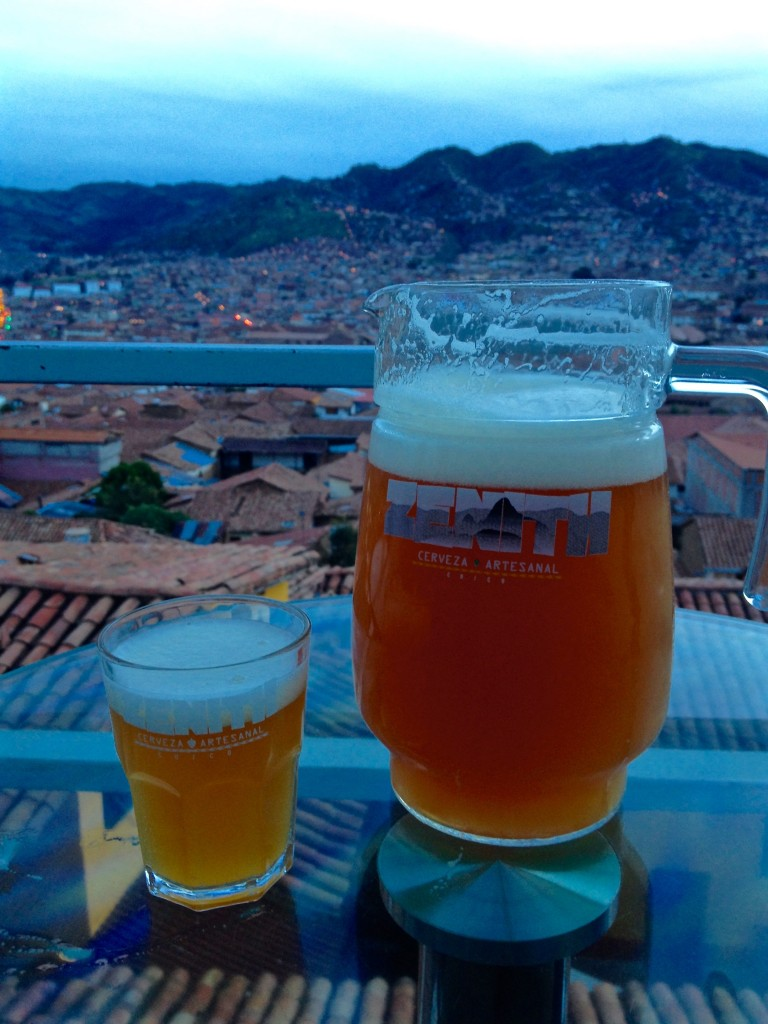 Drinking in Cusco, Peru
