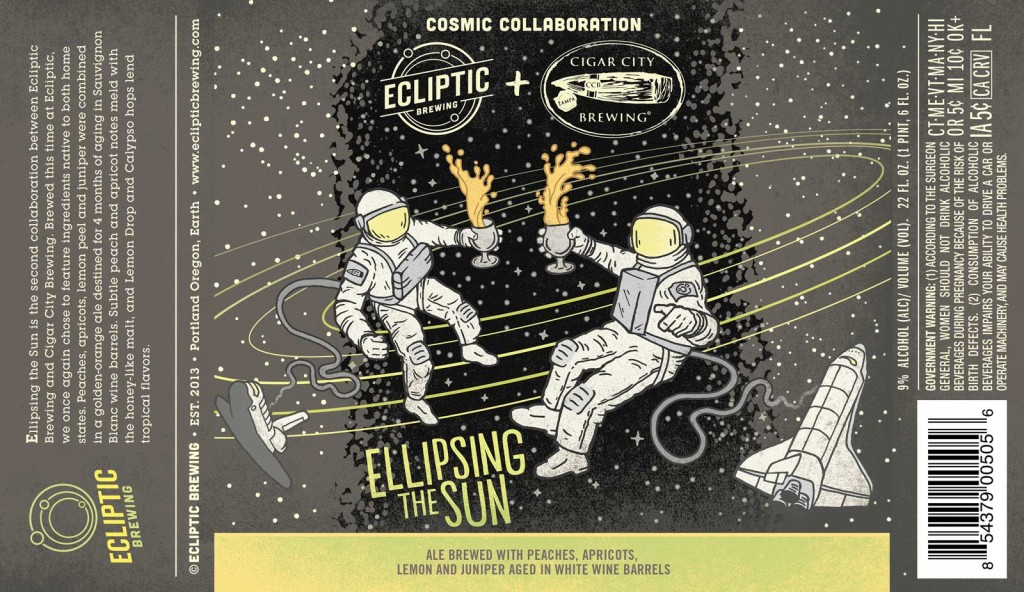 Eclipse & Cigar City Ellipsing the Sun