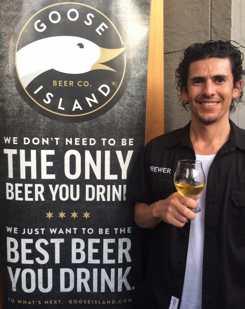 Eric Ponce of Goose Island Beer Co.