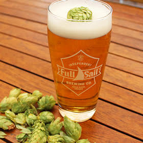 Full Sail Brewing Fresh Hop Pilsner