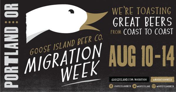 Goose Island Portland Migration Week
