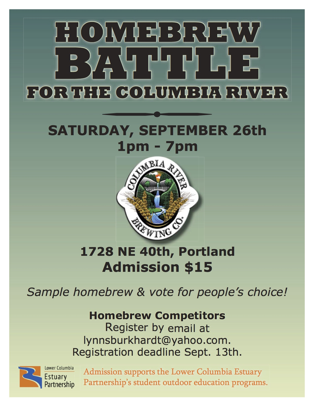 Homebrew Battle for the Columbia River