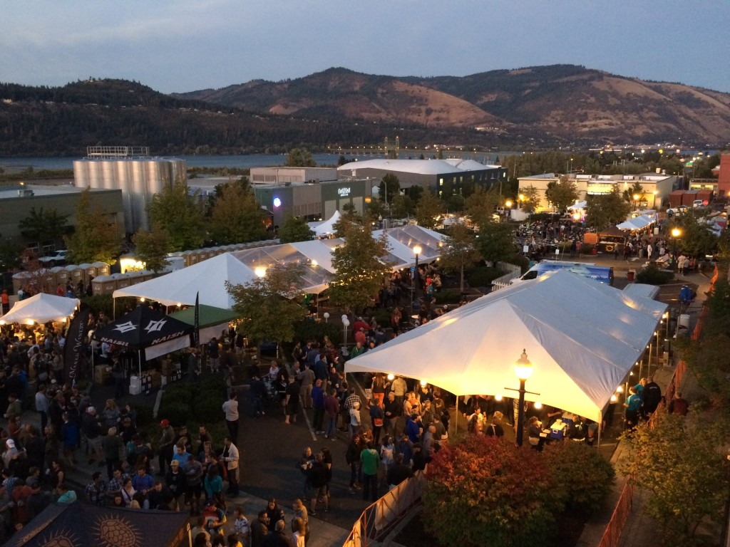 Hood River Hops Fest (photo by D.J. Paul)