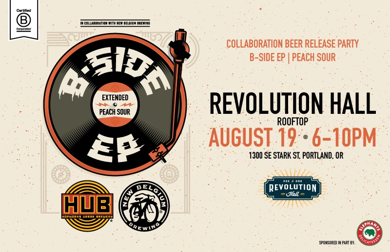 Hopworks and New Belgium release B-Side EP on August 19