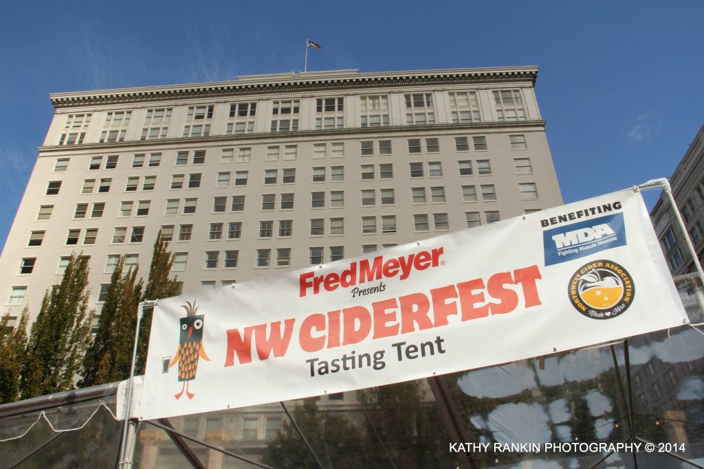 MDA NW CiderFest at Pioneer Courthouse Square