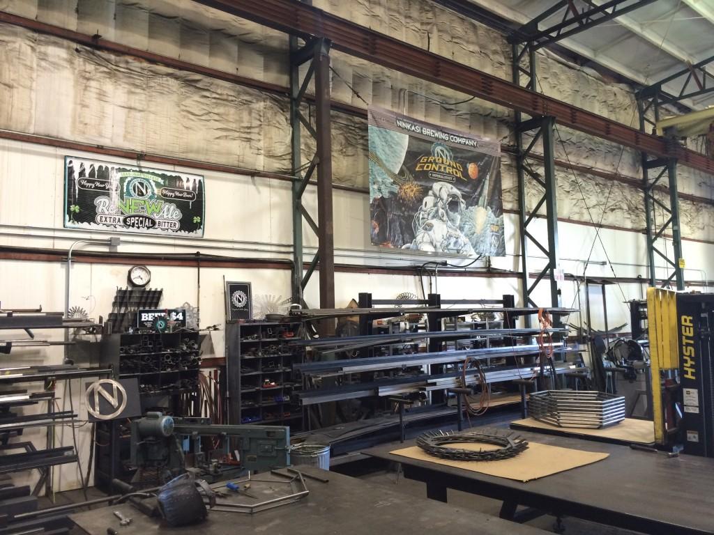 Metal Shop at Ninkasi Brewing
