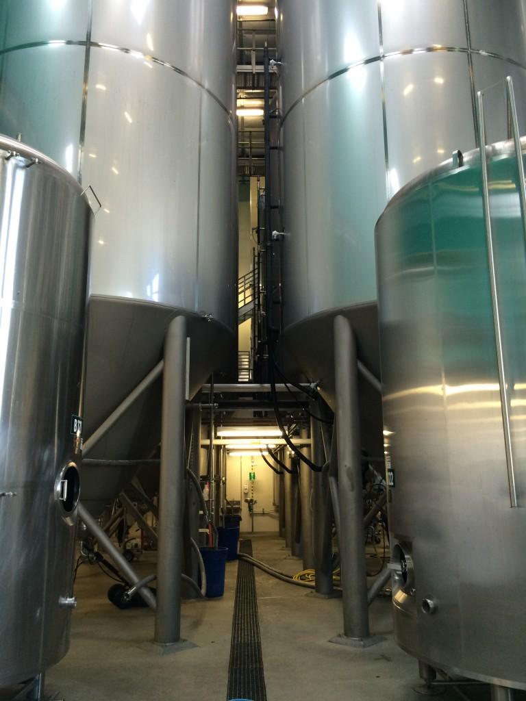 Ninkasi Brewing 550 BBL Tanks