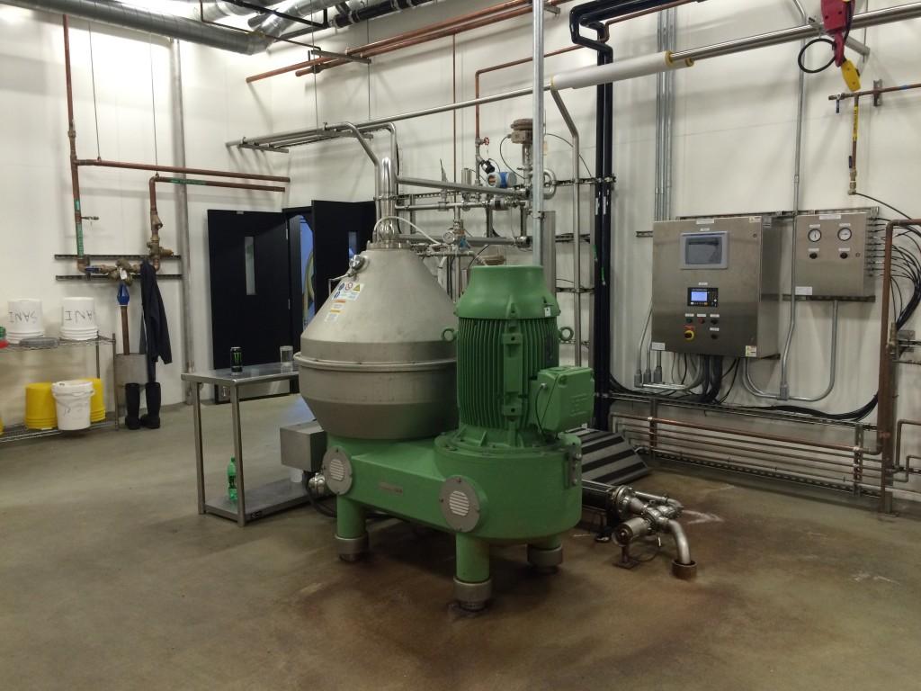 Ninkasi Brewing Centrifuge