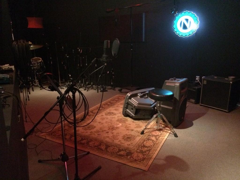 Ninkasi Brewing Recording Studio