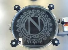 Ninkasi Brewing Tank Door