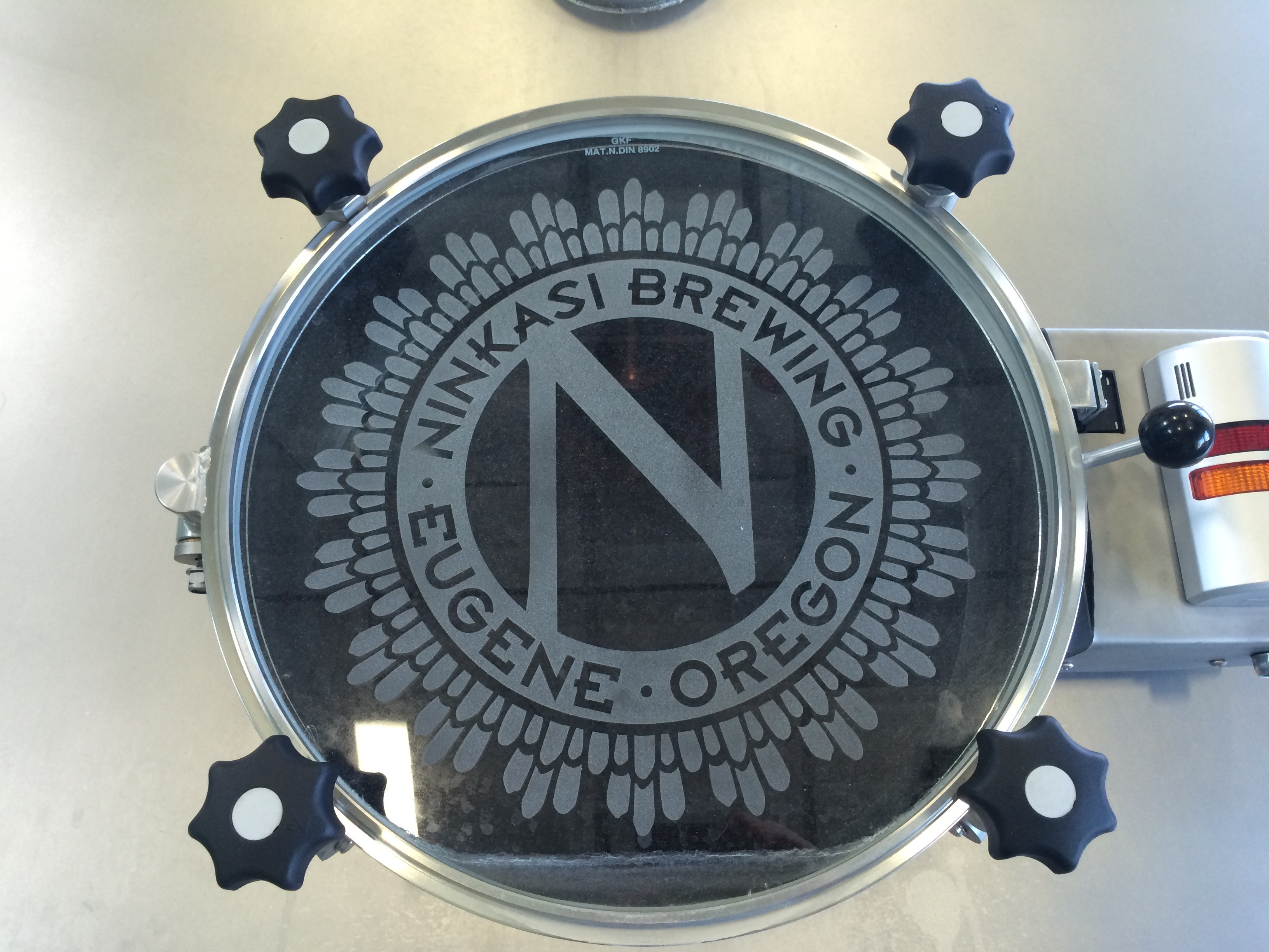 Ninkasi Brewing Tank Door