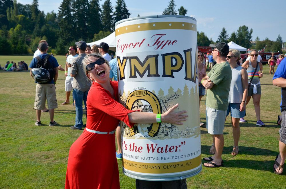 Oly Hug at Tumwater Artesian Brewfest