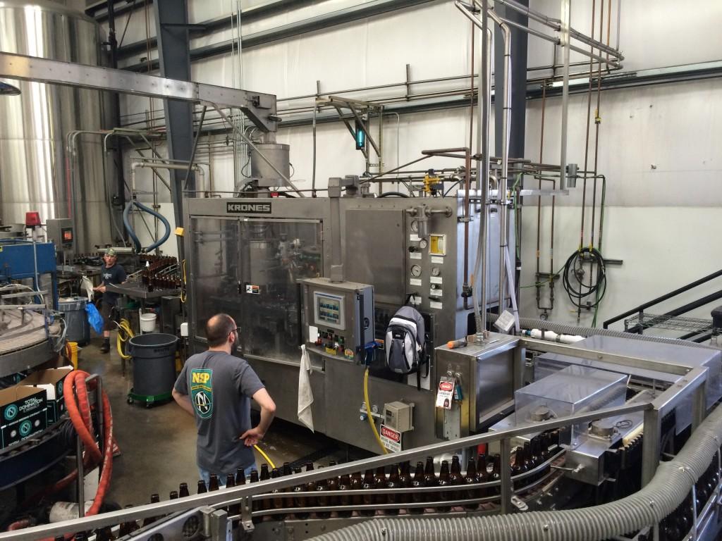 Packaging Line at Ninkasi Brewing