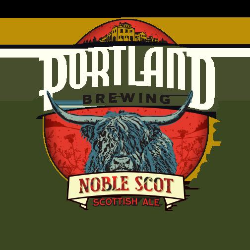 Portland Brewing Noble Scot Logo