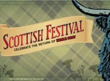 Portland Brewing Noble Scot Scottish Festival Banner
