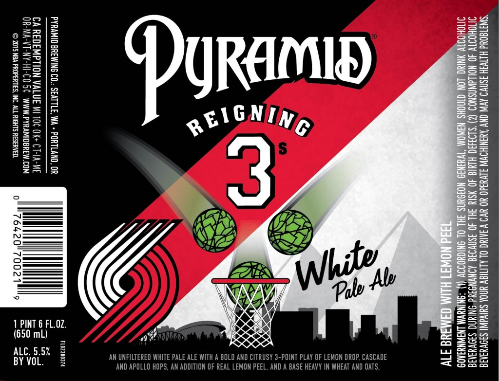 Pyramid Brewing Co. Reigning 3's White Pale Ale