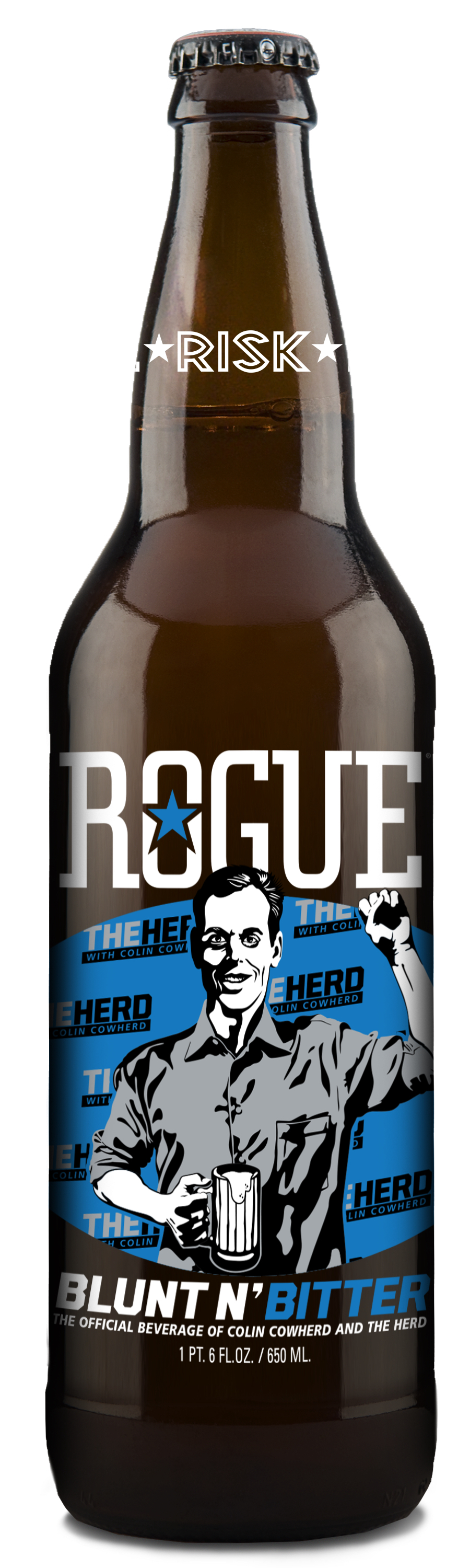 Rogue Ales Colin Cowherd Blunt N' Bitter Beer