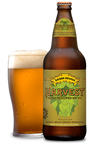 Sierra Nevada Harvest Newly Developed Hop IPA