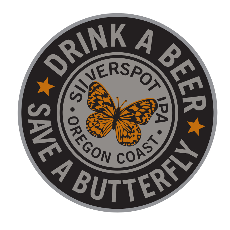 Silverspot IPA Drink A Beer Badge