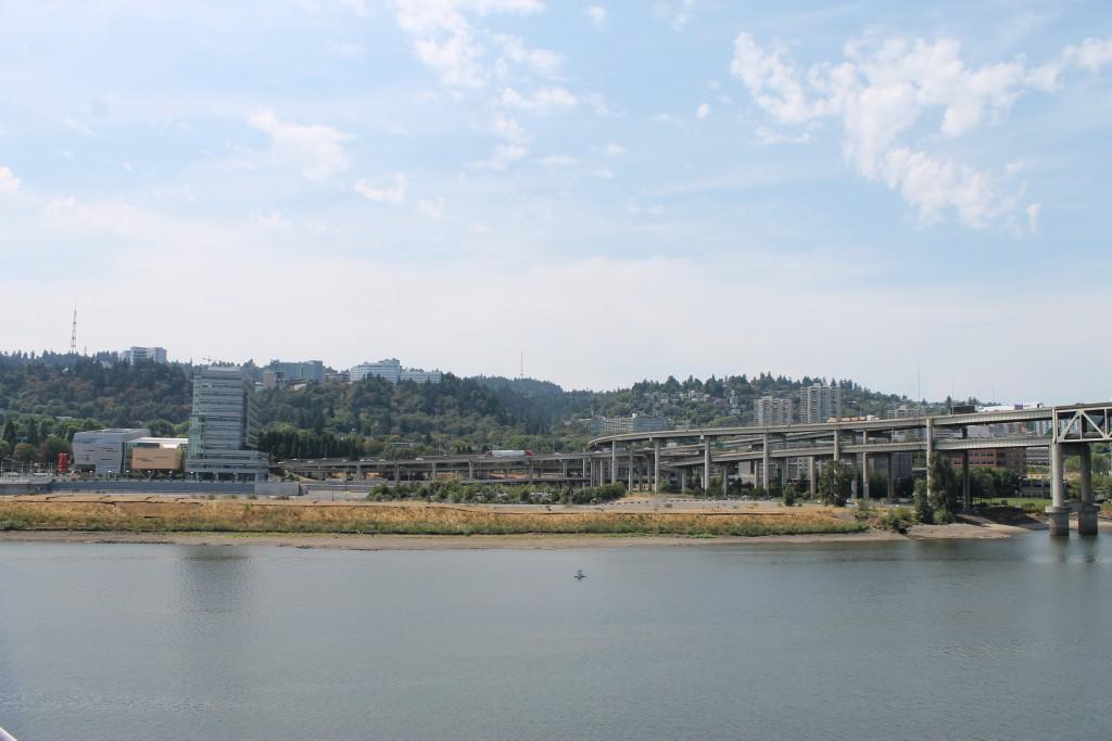 View from Tilikum Crossing