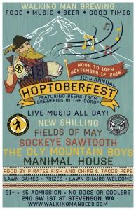 Walking Man Brewing's 13th Annual Hoptoberfest 2015
