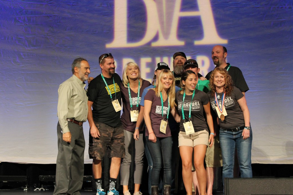 10 Barrel Brewing receives its first of two Bronze Medals at 2015 GABF