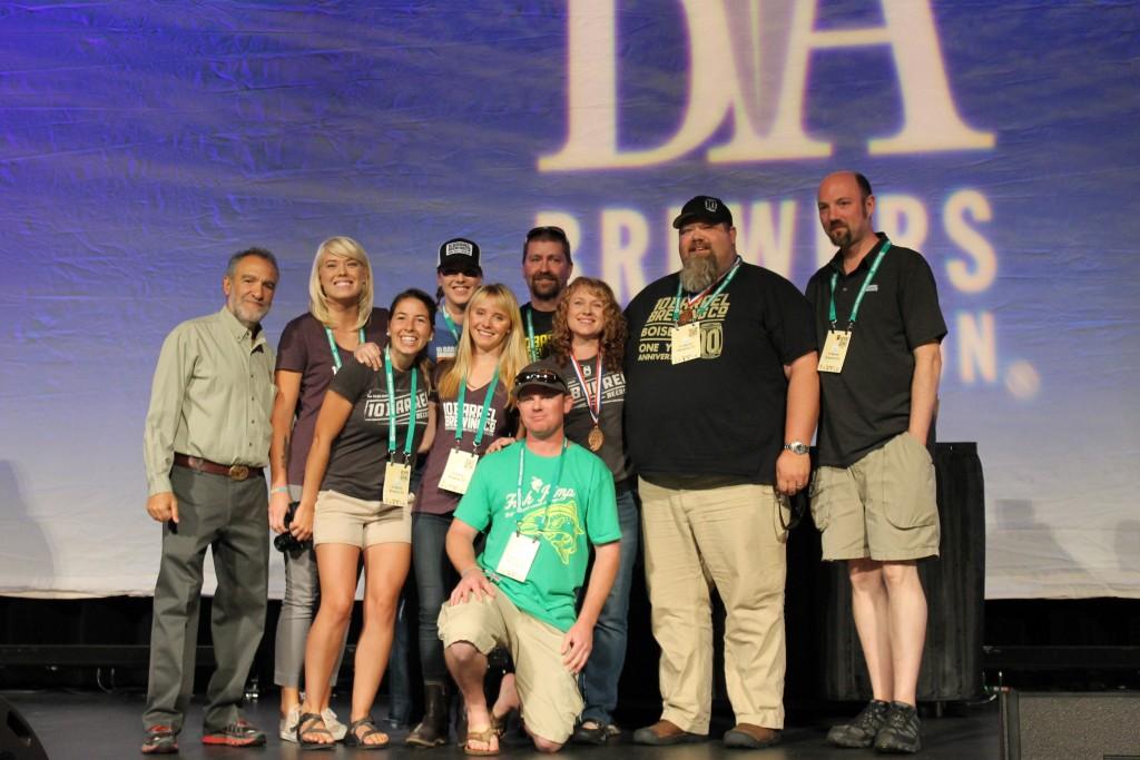 10 Barrel Brewing receives its second of two Bronze Medals at 2015 GABF