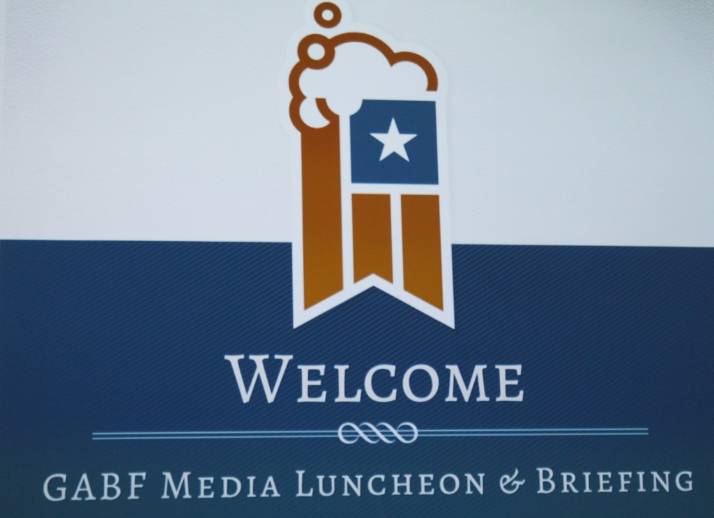 2015 GABF Media Luncheon & Briefing