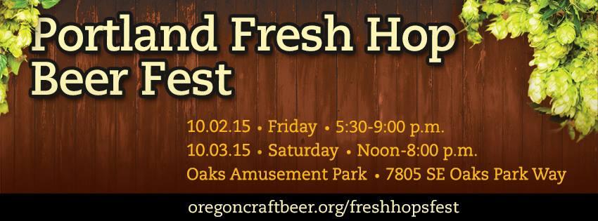 2015 Portland Fresh Hop Beer Fest